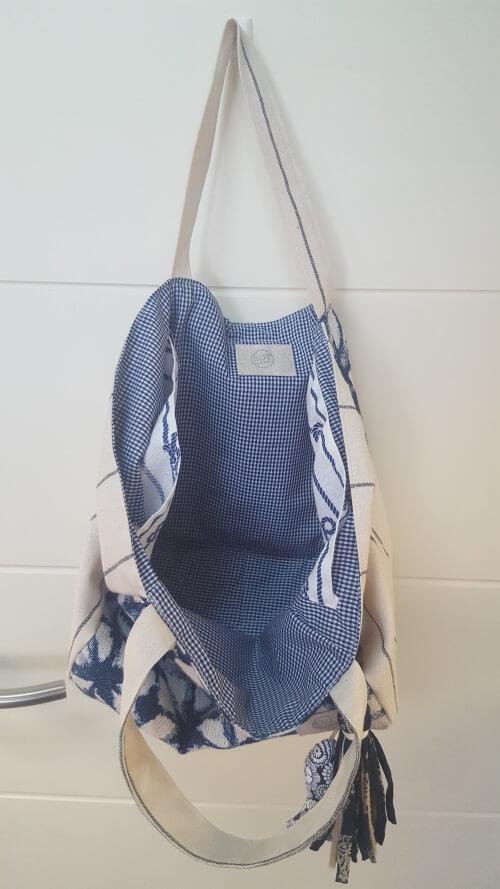 Interior. Medium Bag Azul