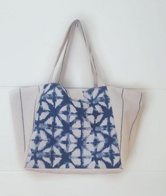 Parte trasera. Medium Bag Azul