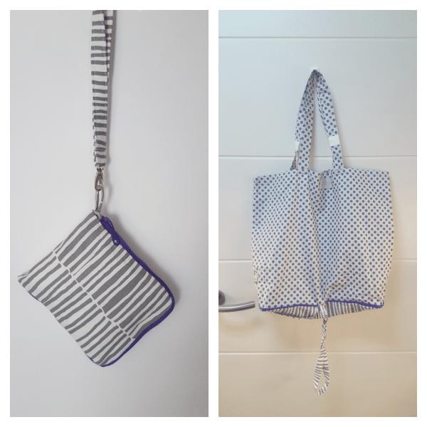 Bolsa eco de tela lavable, reutilizable, solidaria con el medio y súper chula
