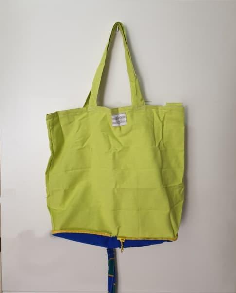 Bolsa para la compra en color flúor