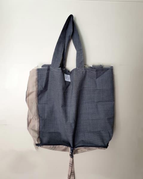 Bolsa ecológica lavable en gris