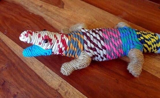 Animal decorativo en tela